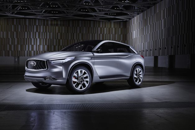 2016 Beijing Preview: Infiniti's QX Sport Inspiration Concept hints at a new mid-level crossover w/ video