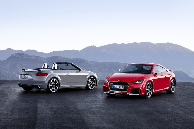 2016 Beijing Preview: The next-gen Audi TT RS is here to hunt some Porsche Caymans w/ video