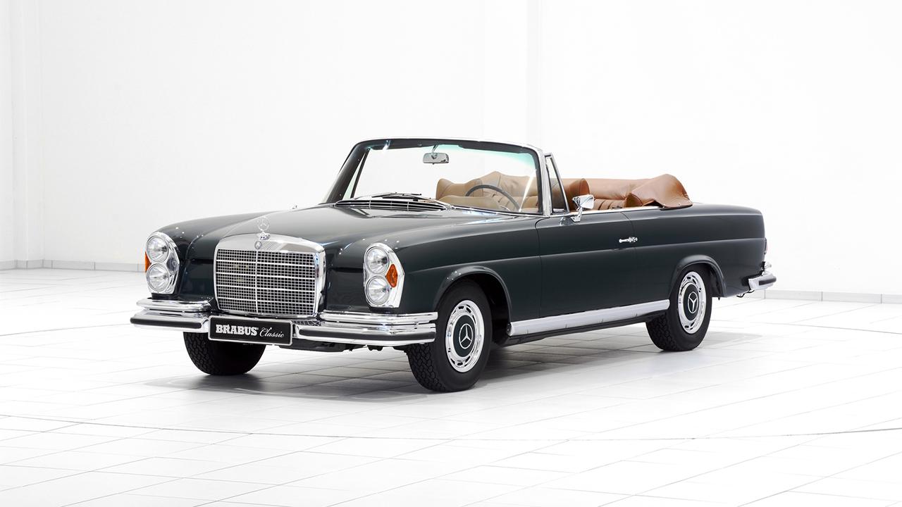 2016 brabus classic mercedes benz restoration w111 for Mercedes benz restoration