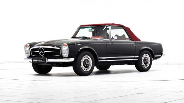 These Brabus restorations showcase the glorious new program for classic Mercedes-Benzes