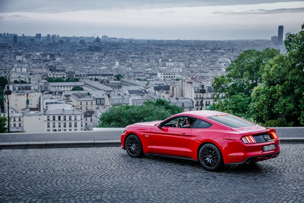 The Ford Mustang is Germany's current most popular sports car