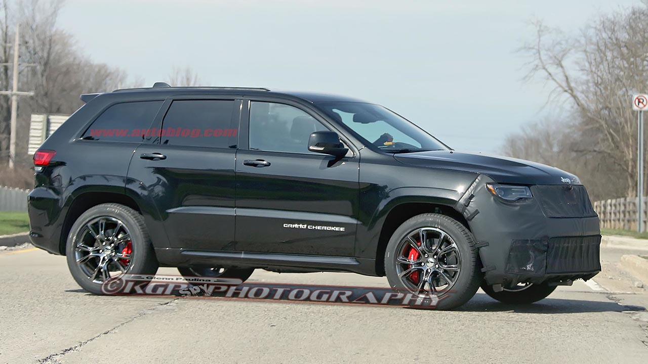 2016 jeep grand cherokee srt trackhawk spy shots by kgp photography. Black Bedroom Furniture Sets. Home Design Ideas