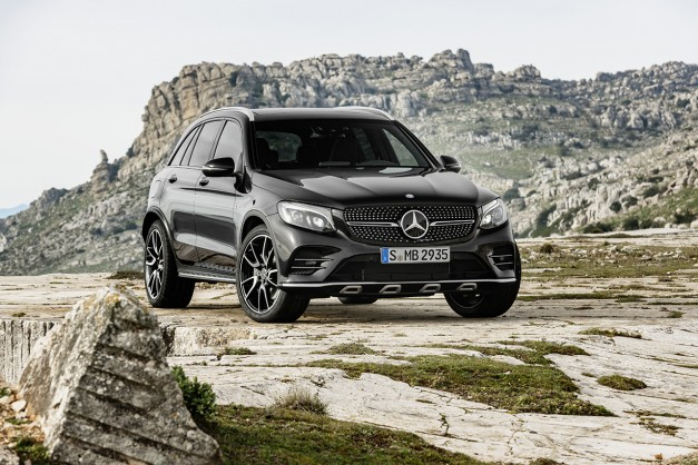 2016 New York Preview: Mercedes-AMG reveals the GLC43 crossover on the web
