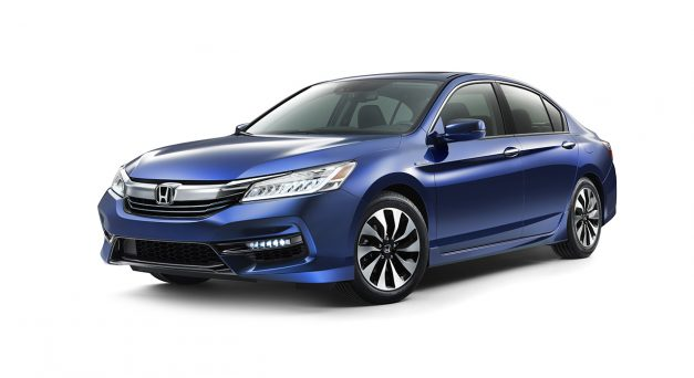 The 2017 Honda Accord Hybrid gets updated with some mid-cycle changes