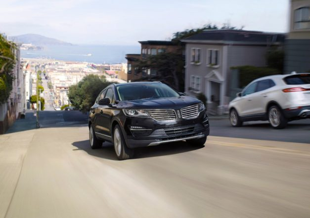 The 2017 Lincoln MKC receives some minor equipment changes