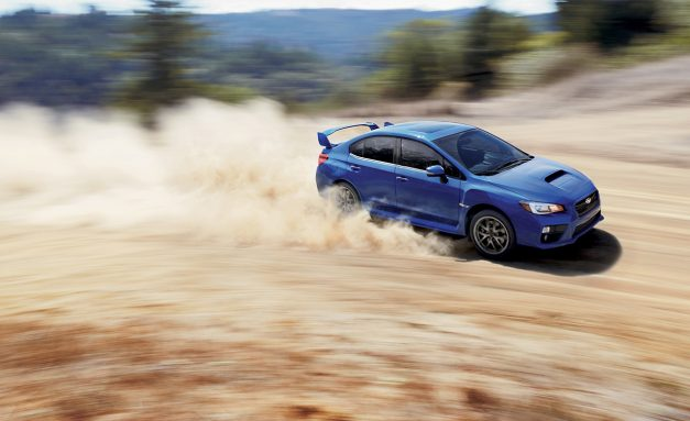The 2017 Subaru WRX starts at $26,695, WRX STI at $35,195