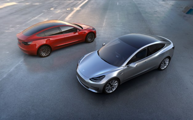 The Tesla Model 3 is finally here for everyone to see w/ video
