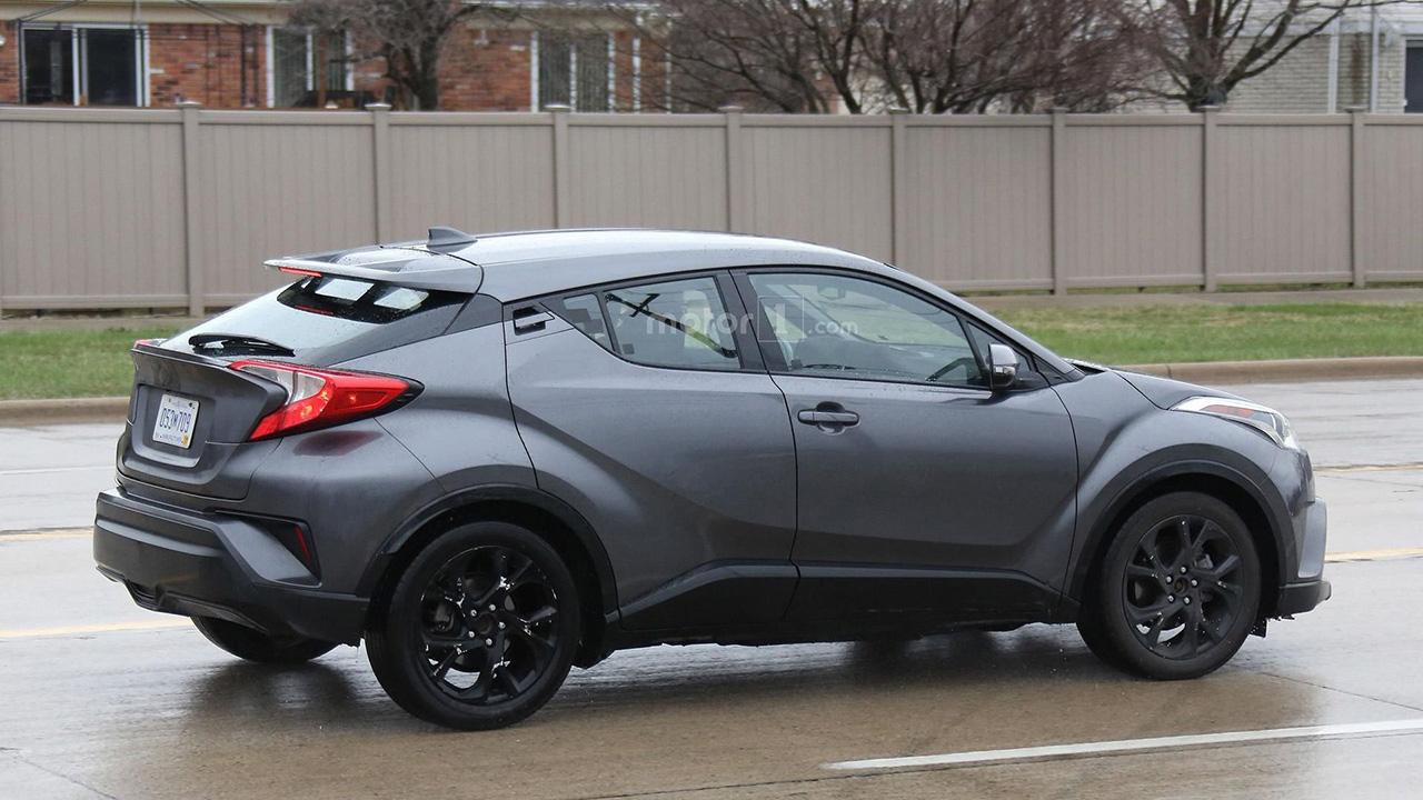 2018 Toyota C-HR Spy Shots by Motor1 - egmCarTech