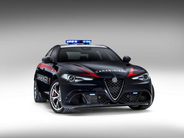 Report: The Italian Carabinieri gain an Alfa Romeo Giulia Quadrifoglio for the fleet