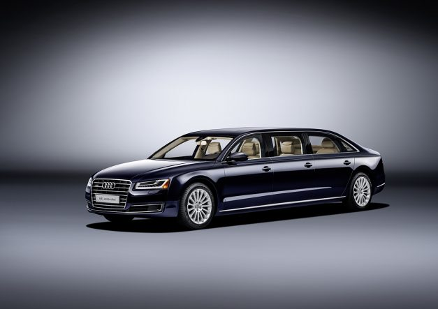 Report: Audi doesn't want to be left out from the limousine and coupe market with the A8