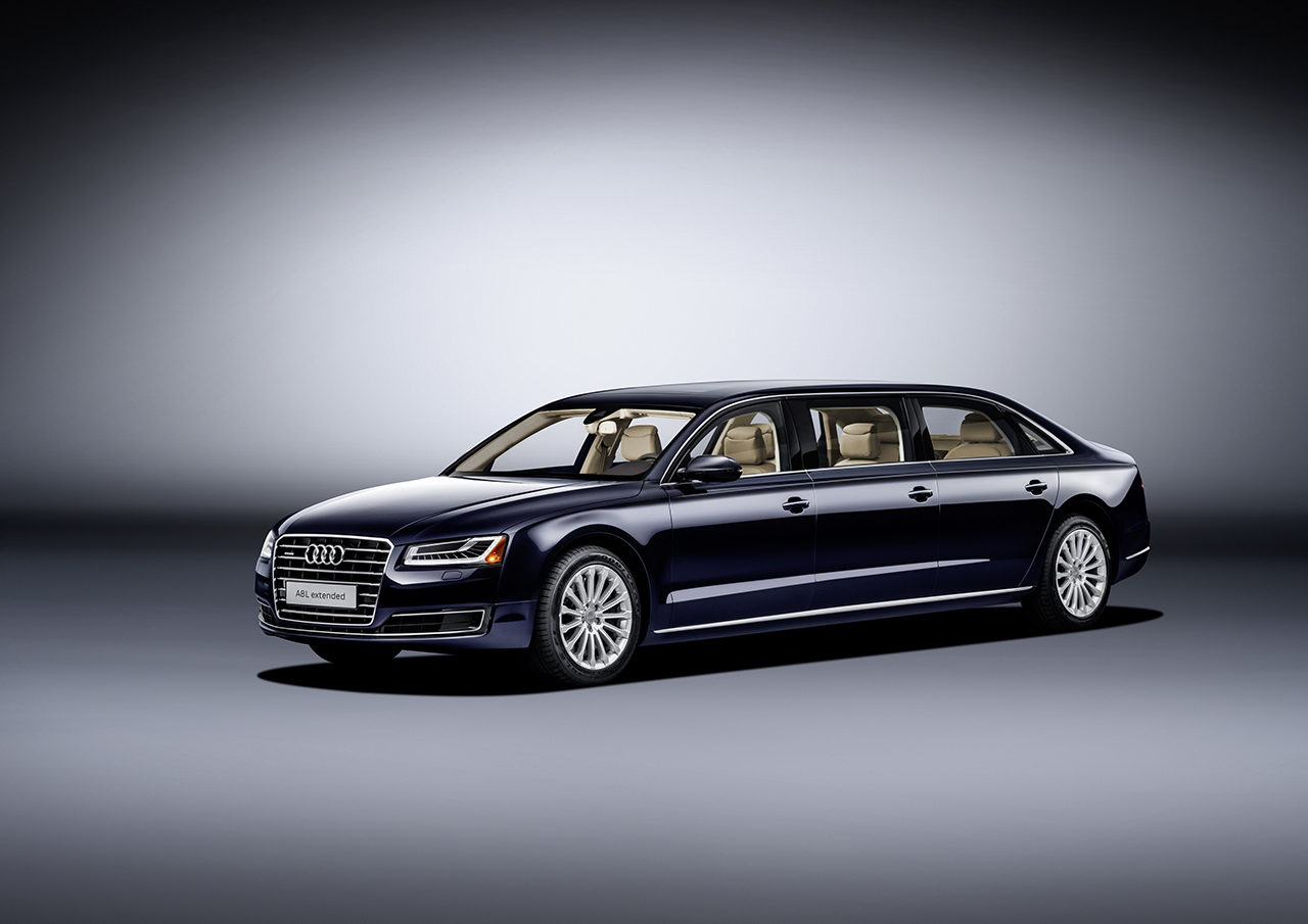 2016 Audi A8 L extended Concept
