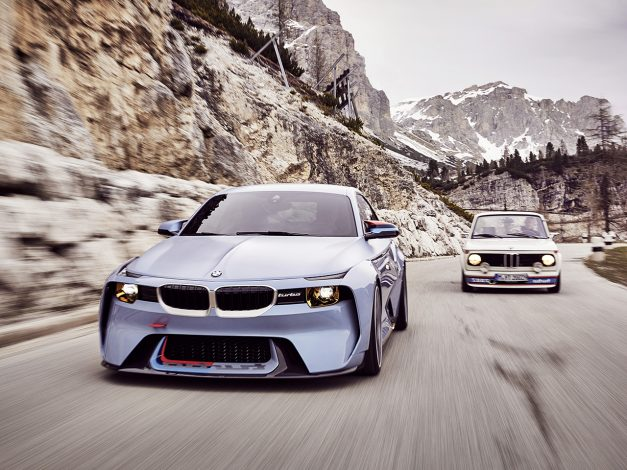 The BMW 2002 Hommage Concept is Munich's attempt to pay tribute to the original 2002tii