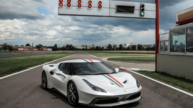 The Ferrari 458 MM Speciale is a one-off model designed for one very special British customer