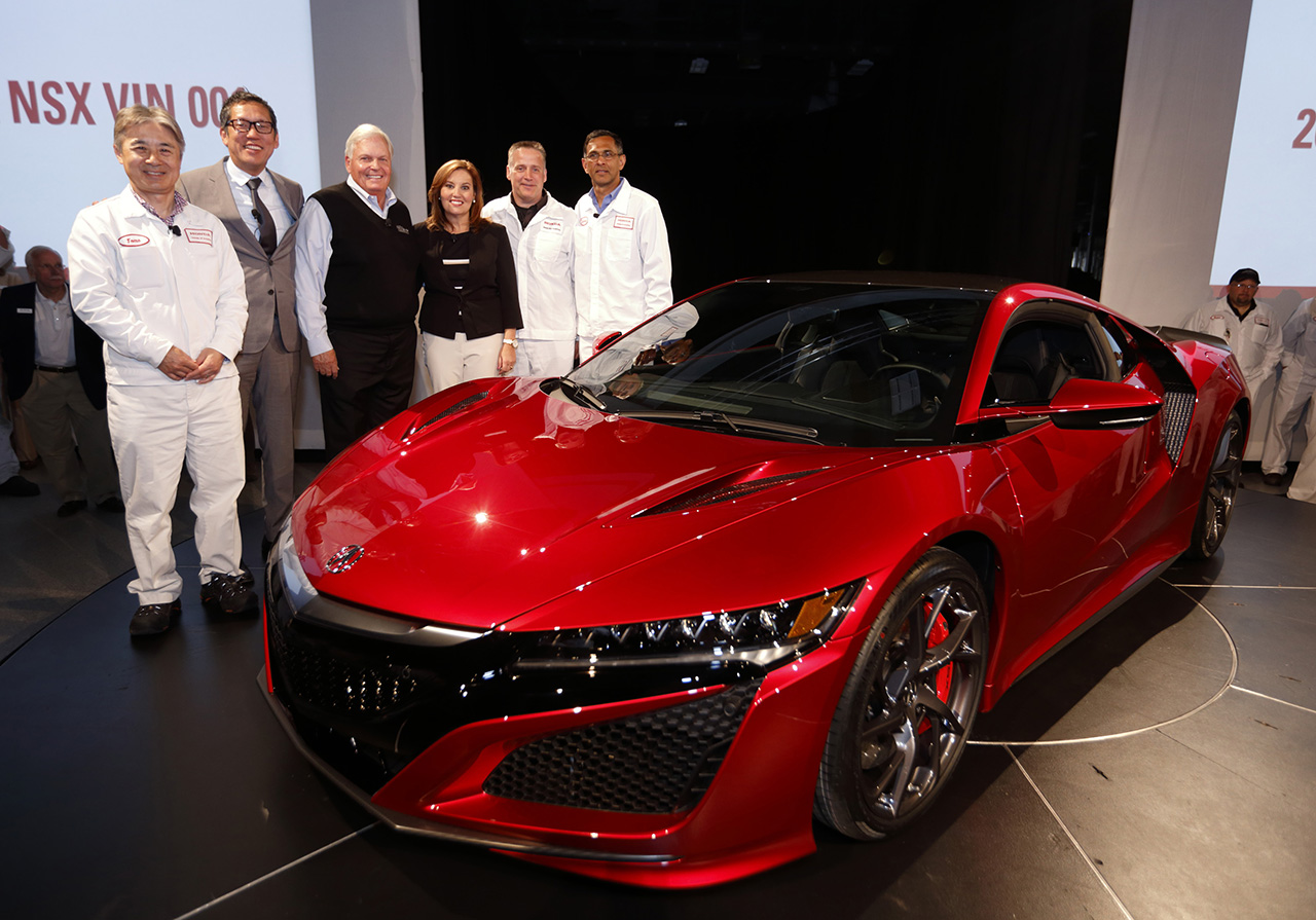 2016 - First Production 2017 Acura NSX