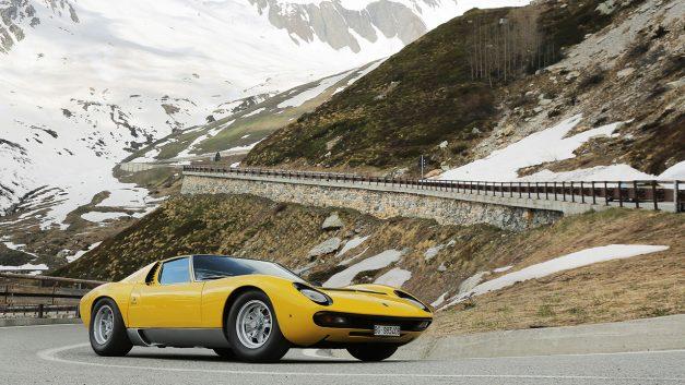 The legendary Lamborghini Miura turns 50 this year, the original mid-engined supercar