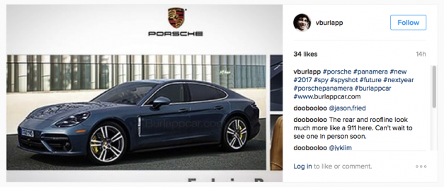 Leaked: Could this be the new next-generation Porsche Panamera?