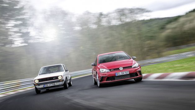Volkswagen just beat the Nürburgring Nordschleife lap time for fastest front-wheel drive production vehicle