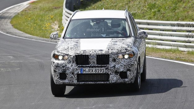 Spy Shots: BMW's X3 M was caught testing its chops on the Nurburgring