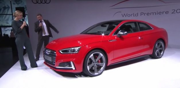 "LIVE VIDEO: Watch Audi AG reveal all ""new"" A5 Coupe in Germany"