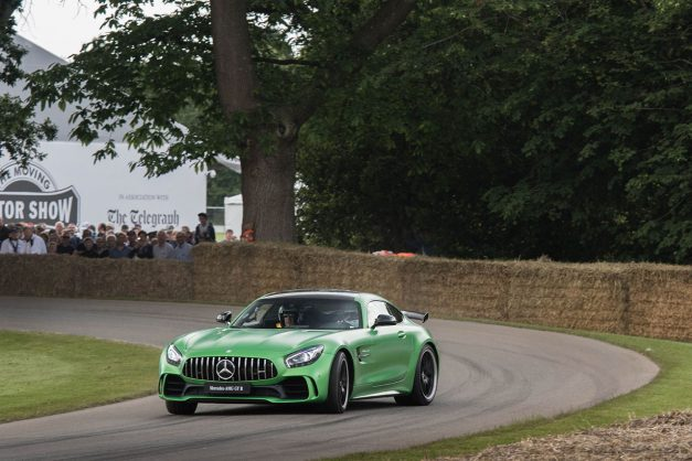 Video: Get your first glimpse of the  Mercedes-AMG GT-R in action at Goodwood