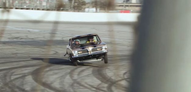 Video: Watch Jay Leno get tossed when he gets caught in a 2500hp dragster flip