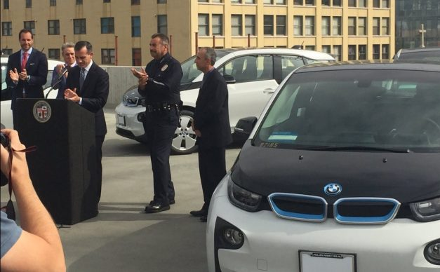 The LAPD just scored a whole fleet of BMW i3's for non-emergency duties