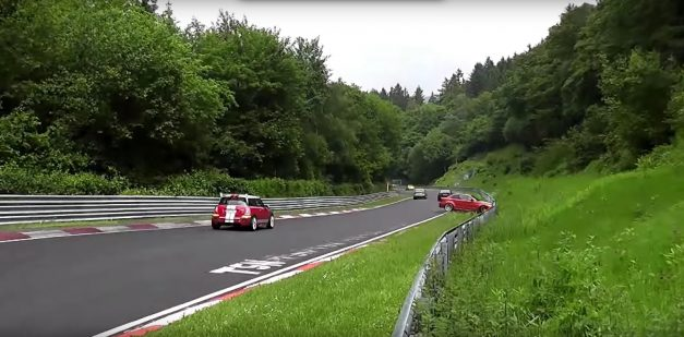 Video: Watching a BMW 1-Series M Coupe destroy itself on the 'Ring makes you want to cringe