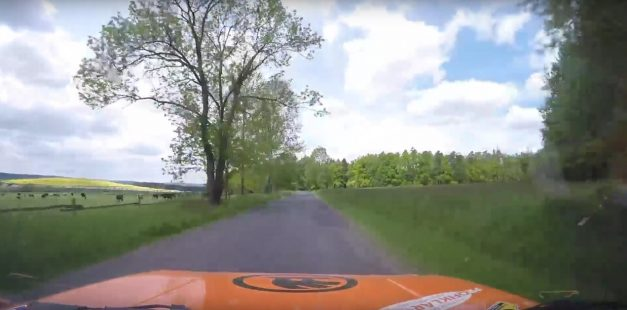 Video: Watch this GoPro capture the wildest footage during a rally crash