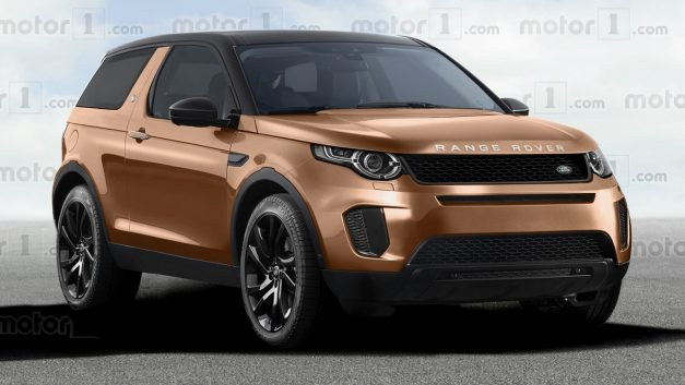 Photo Rendering: Land Rover could be eying a subcompact crossover prospect