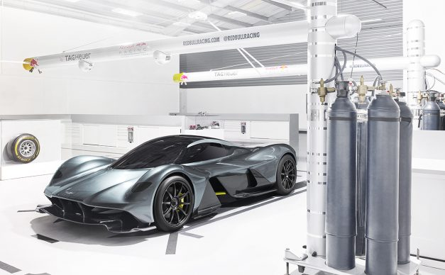 This is what happens in 2016 when Aston Martin and Red Bull come together to make a car