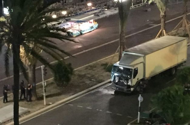 BREAKING: Truck plows through crowd killing many in Nice, France, during Bastille Day [UPDATED]