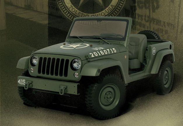 Jeep celebrates the 75th Anniversary of the Wrangler with a Willys tribute
