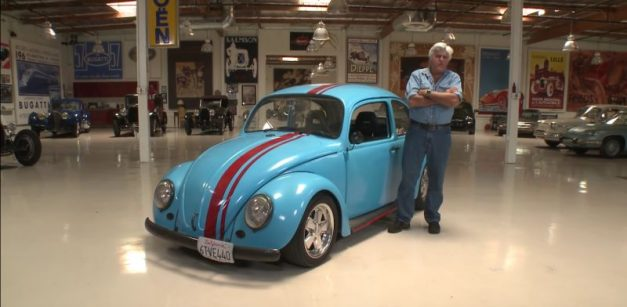Video: Watch Jay Leno try out a very unique rotary-powered Volkswagen Beetle