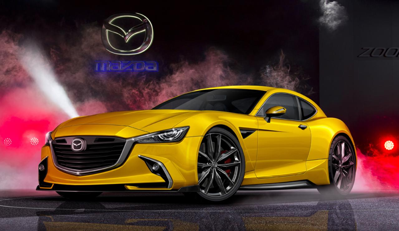 2016 - Mazda RX-9 Renderings - From Holiday Auto Japan
