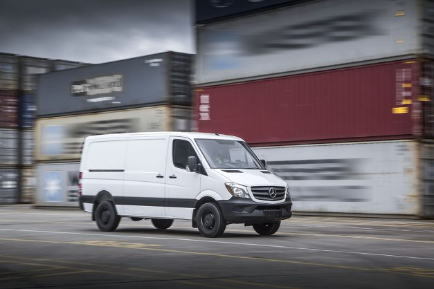 Next-generation Mercedes-Benz Sprinter to get battery electric drive?