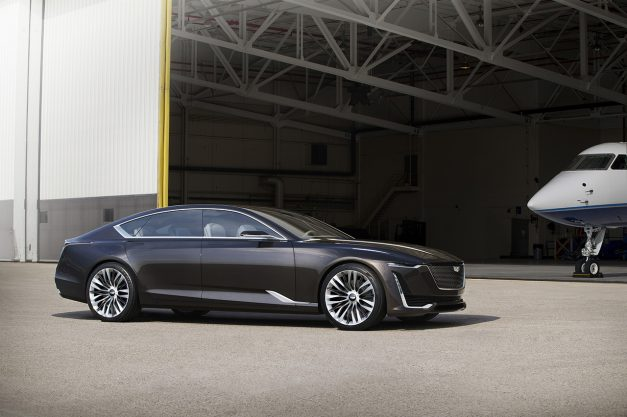 2016 Monterey: Cadillac's new Escala Concept previews brand's design direction