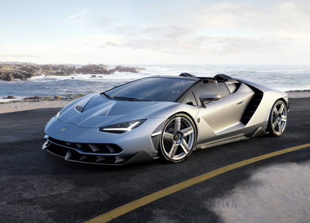 2016 Monterey: The Lamborghini Centenario Roadster sells out just as it gets revealed