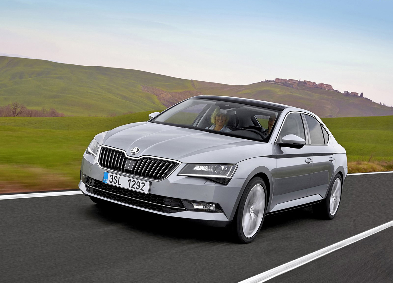 2016 Skoda Superb Hatch