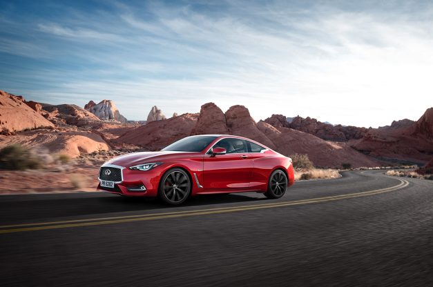 You'll need $39,855 to land a basic 2017 Infiniti Q60 in your driveway