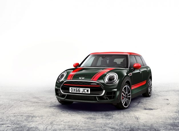 The MINI John Cooper Works Clubman gains all-paw traction