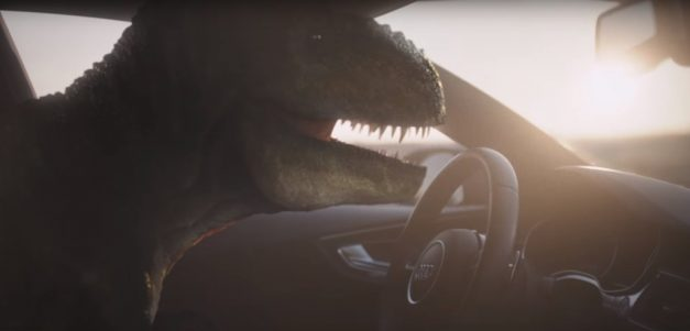 Video: Audi's Piloted Driving Concept is meant to make the Tyrannosaurus Rex happy