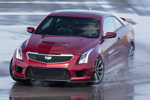 Cadillac ATS-V Coupe Car Control Training