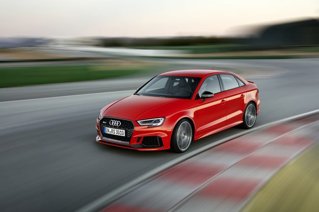 2016 Paris Preview: The 2018 Audi RS3 sedan gets revealed with 400 horsepower
