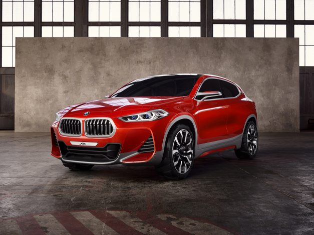 2016 Paris Preview: The BMW X2 Concept previews Bavaria's next entry-level crossover