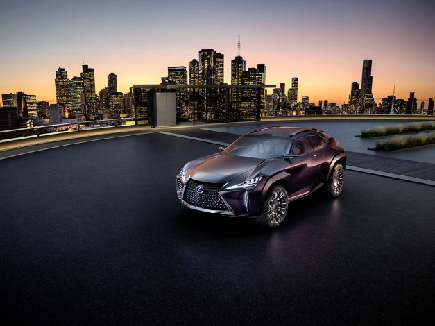 2016 Paris Preview: The Lexus UX Concept is another crossover SUV pitch