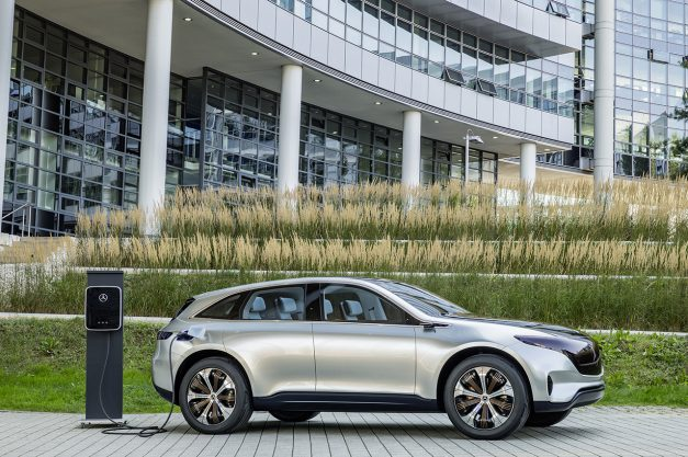 2016 Paris Preview: The Mercedes-Benz Generation EQ Concept previews an EV crossover family