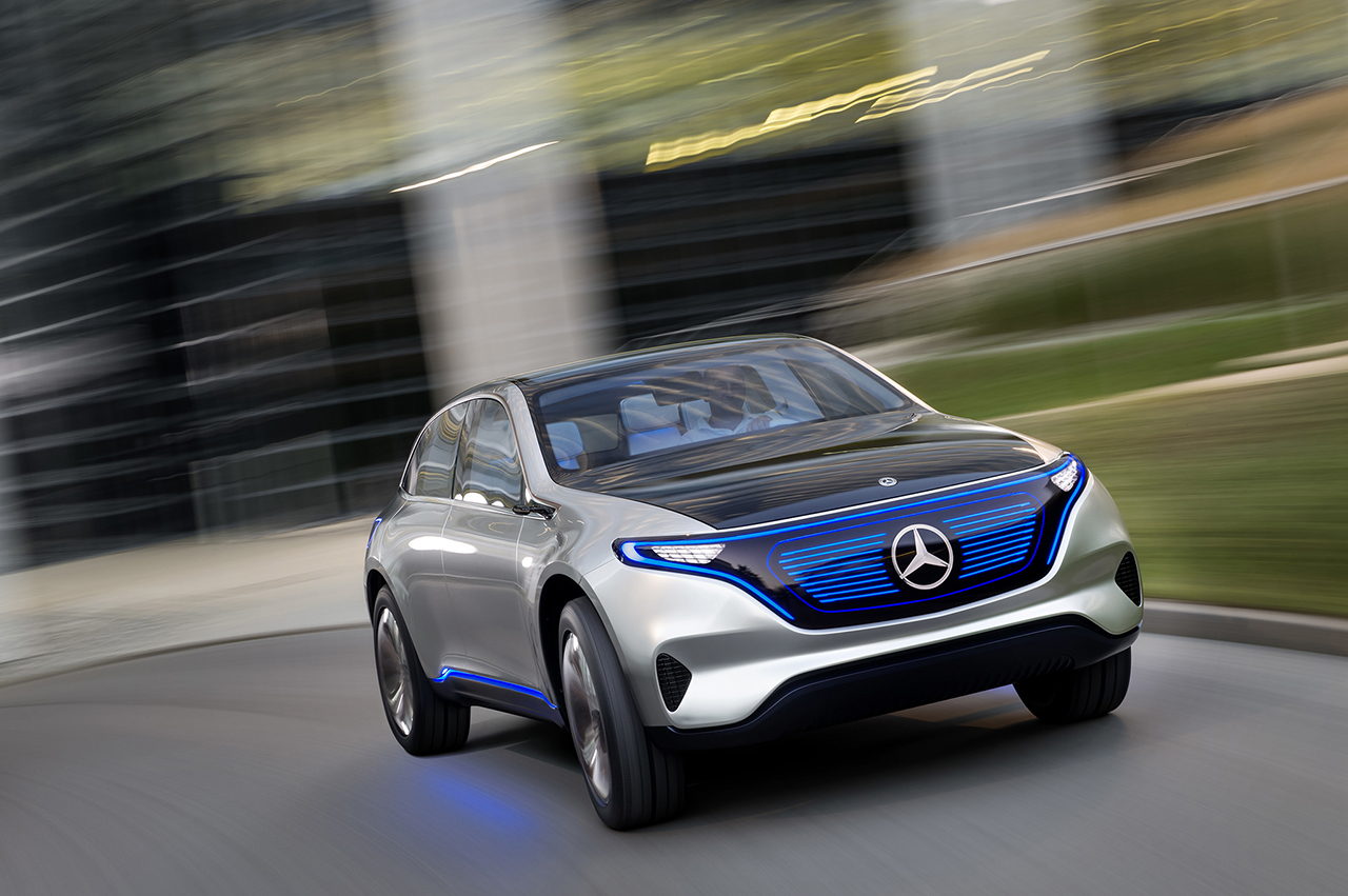 2016 Paris - Mercedes-Benz Generation EQ Concept