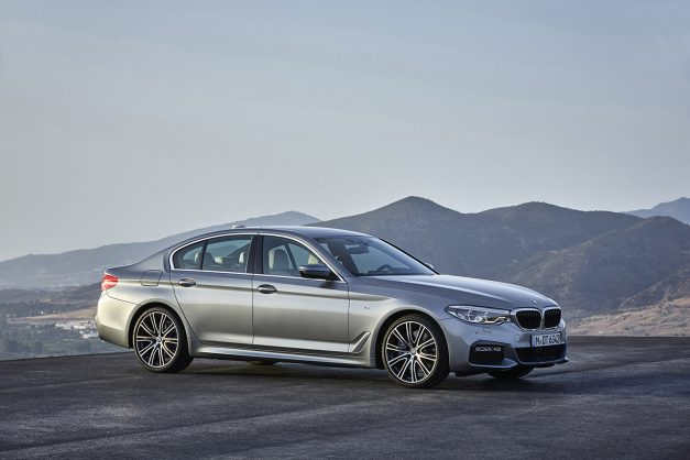 The new and first all-aluminum 2017 BMW 5-Series is here