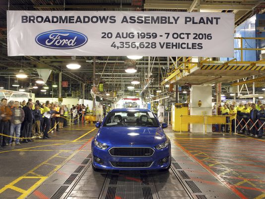 Report: Ford produces last Falcon and last car in Australia, ever
