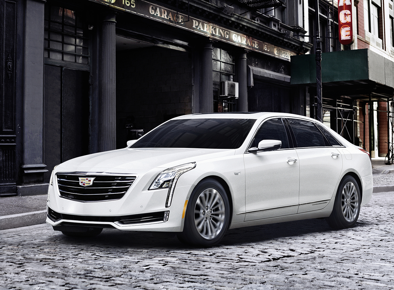 The 2017 Cadillac CT6 Plug-In Hybrid